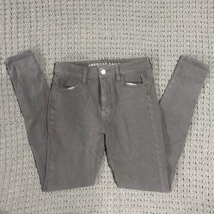 Women's American Eagle grey pants